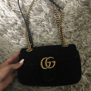 2018 Black GG Marmont in SM *excellent condition*